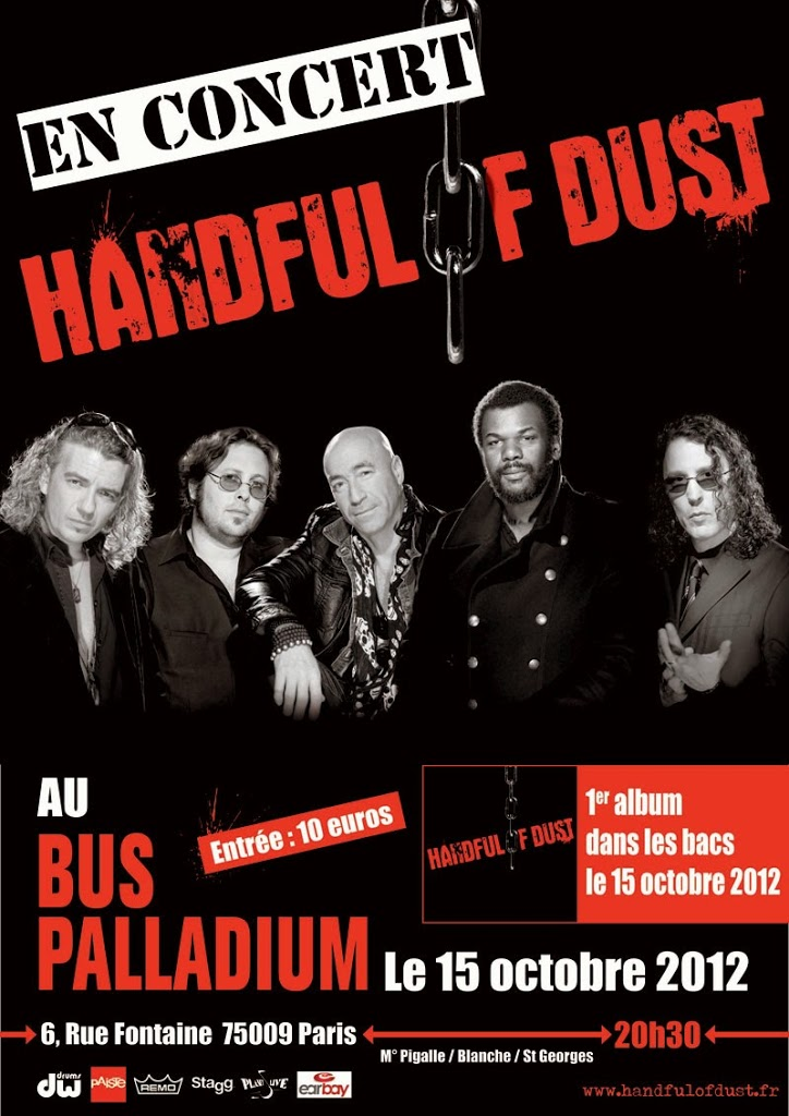 HANDFUL OF DUST @ Le bus Palladium