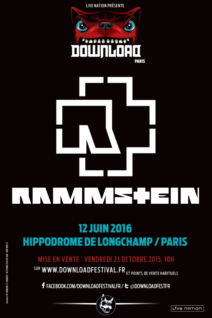 Download Festival France : RAMMSTEIN