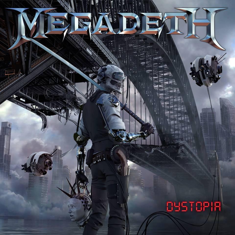 MEGADETH : DYSTOPIA sortie en Janvier 2016