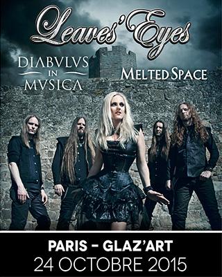 Leaves' Eyes + Diabulus in Musica + Melted Space