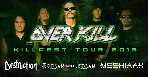 Killfest tour 2019