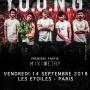 Y.O.U.N.G - Les Etoiles, 14 septembre 2018