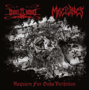 DROWNING/MISGIVINGS - Requiem For Gods PerditionDROWNING/MISGIVINGS - Requiem For Gods Perdition