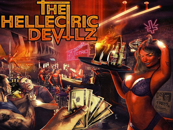 THE HELLECTRIC DEVILZ - The HEllectric Club